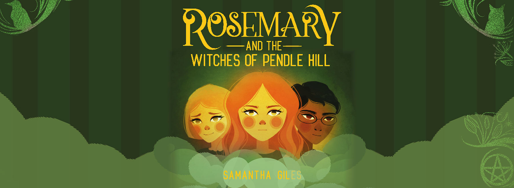 Rosemary and the Witches of Pendle illustration